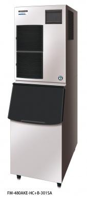 Hoshizaki Nuggeteisbereiter FM-480AKE-HCN-SB Eisproduktion (kg/24h): 380 kg Vorratsbehälter: separ