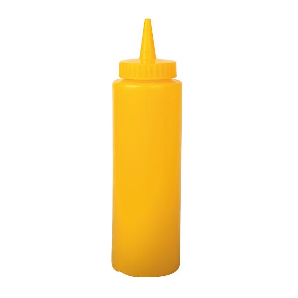 Mustard Squeeze Bottle, 8 oz, 236 ml, gelb