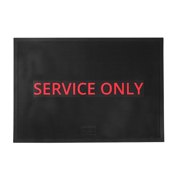 """Barmatte """"Service only"""" 30x43x0,4 cm"""