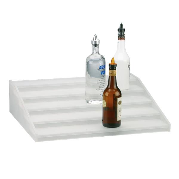Flaschentreppe 5 Stufen, 60x50x15 cm BxTxH & LED Beleuchtung