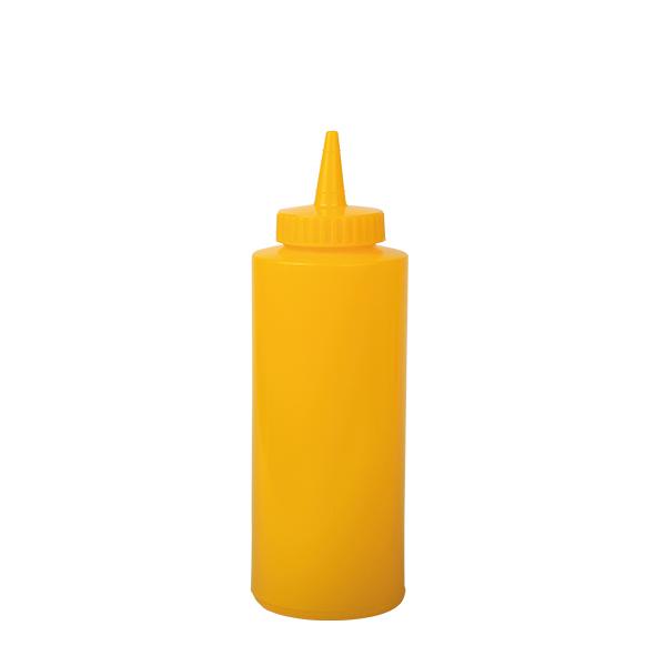 Mustard Squeeze Bottle, 12 oz, 355 ml, gelb