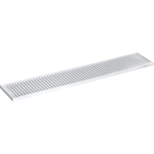 Barmatte 53x10x1 cm, weiß