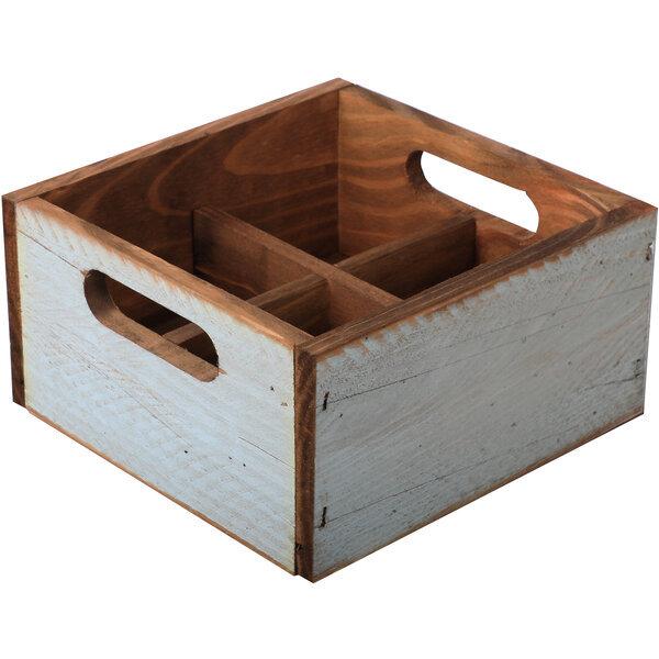 Holzbox klein Türkis