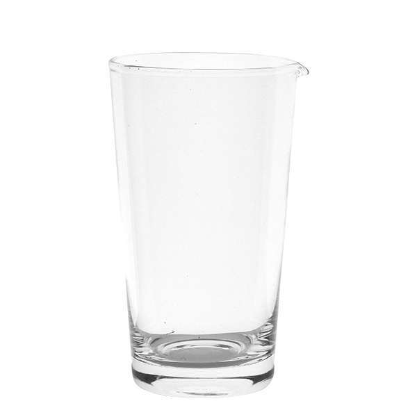 Mischglas mit Ausgußlippe, schwer