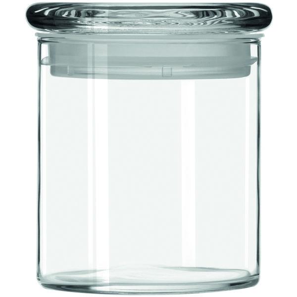 Cylinder Jar w/lid 651ml