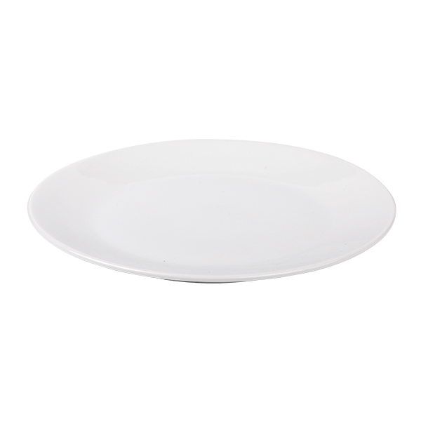 Flacher runder Teller ohne Fahne - 21cm - 8 1/4 inch